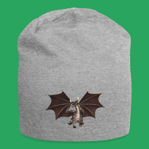 dragon logo color - Beanie in jersey