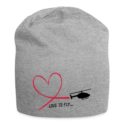 love_to_fly_jet_ranger - Jersey-Beanie