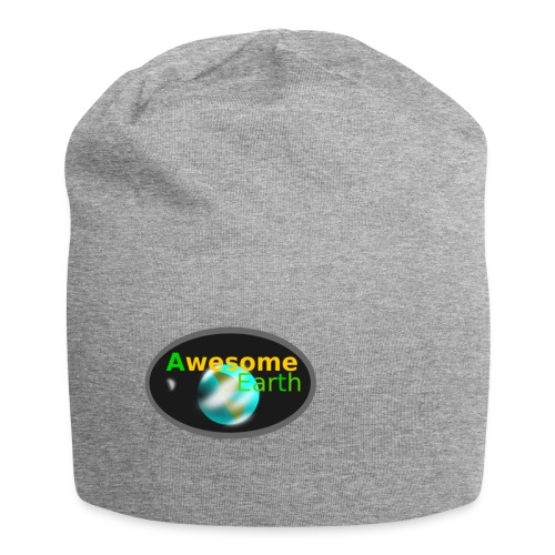 awesome earth - Jersey Beanie