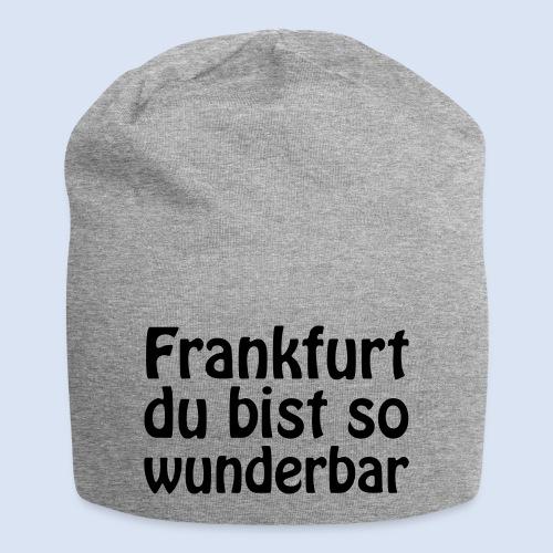 FRANKFURT Du bist so - Jersey-Beanie