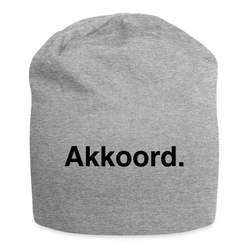 Akkoord - Jersey-Beanie