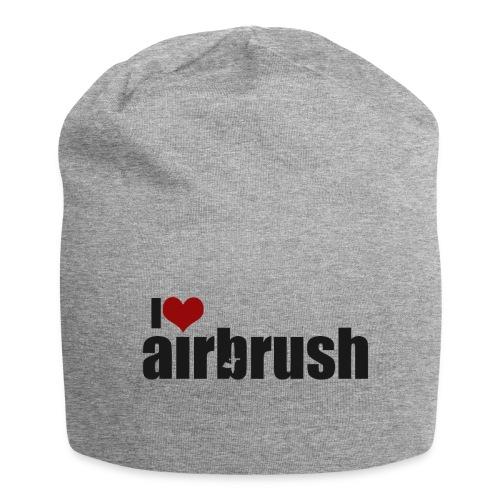 I Love airbrush - Jersey-Beanie
