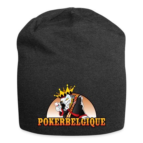 Logo Poker Belgique - Bonnet en jersey