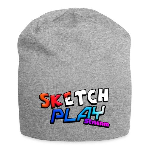 Logo SketchPlayStream - Beanie in jersey