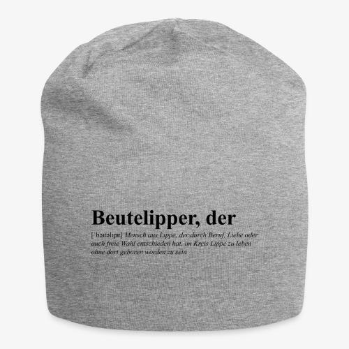 Beutelipper - Wörterbuch - Jersey-Beanie