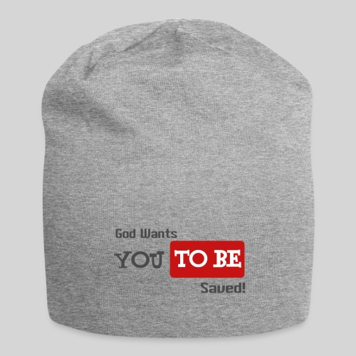 God wants you to be saved Johannes 3,16 - Jersey-Beanie