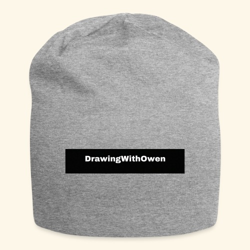 drawing with owen products - Jersey-Beanie