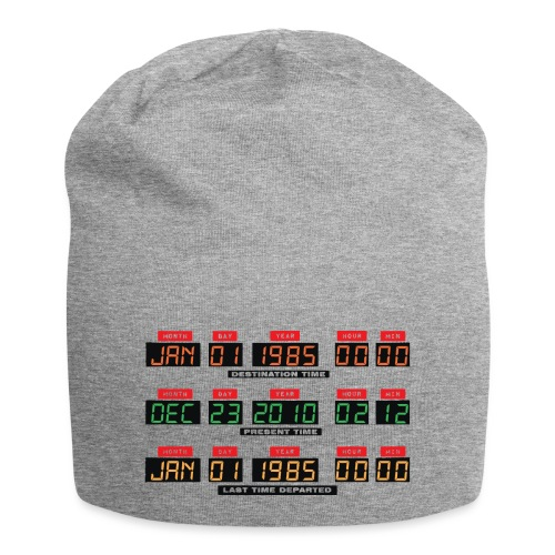 Back To The Future DeLorean Time Travel Console - Jersey Beanie