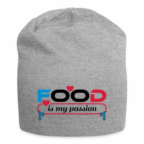 Food is my passion - Jersey-Beanie