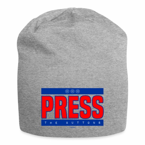 Press the buttons - Jersey-Beanie