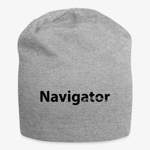 Navigator zwart merch - Jersey-Beanie