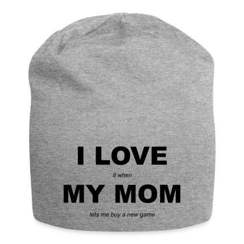 LOVE MOM GAME - Jersey Beanie