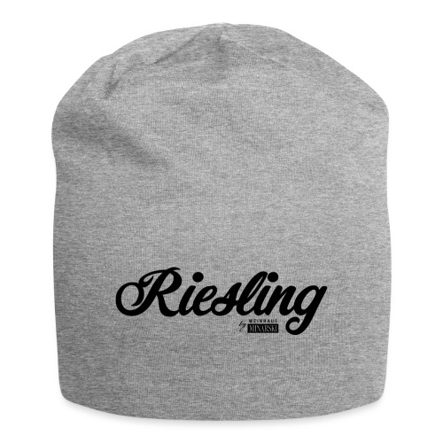 Riesling schwarz png - Jersey-Beanie