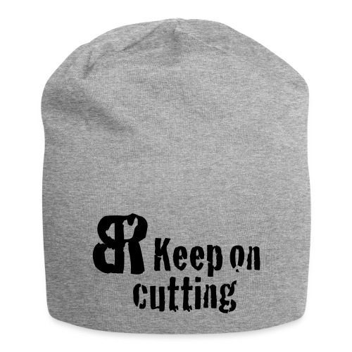 keep on cutting 1 - Jersey-Beanie