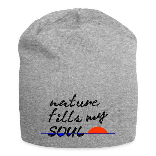 nature fills my soul - Jersey-Beanie