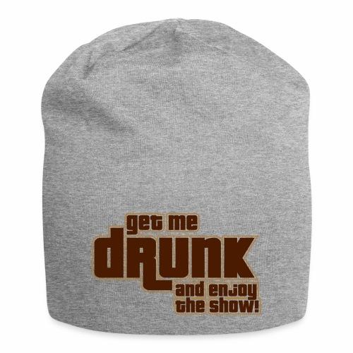 drunk - Beanie in jersey