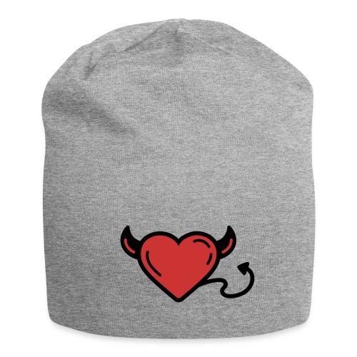 Printful heart devil - Bonnet en jersey