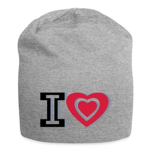 I LOVE I HEART - Jersey Beanie