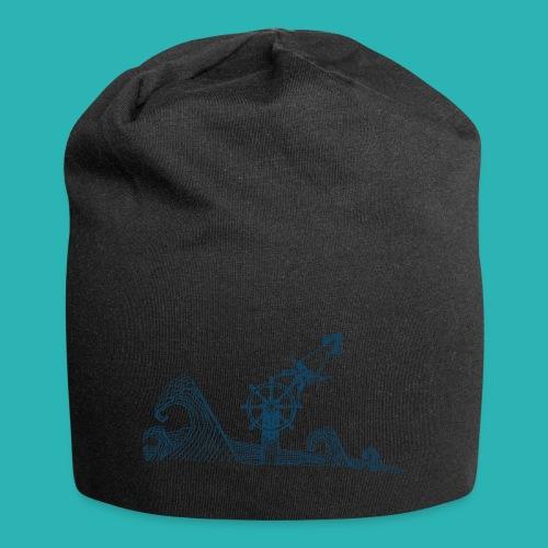 Carta_timone_blu-png - Beanie in jersey