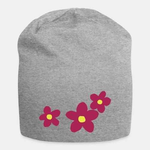 Three Flowers - Jersey Beanie