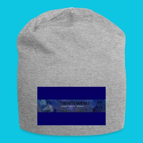 buismat bleu - Jersey-Beanie