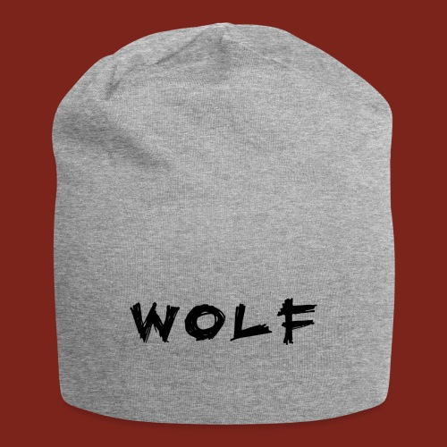 Wolf Font png - Jersey-Beanie