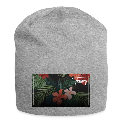Tassony flowers - bag - Beanie in jersey