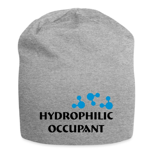 Hydrophilic Occupant (2 colour vector graphic) - Jersey Beanie