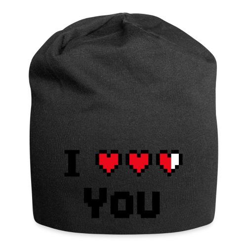 I pixelhearts you - Jersey-Beanie