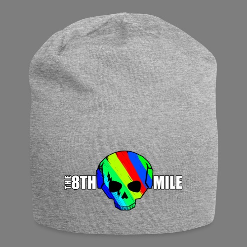 Colorful Skull Logo - Jersey Beanie