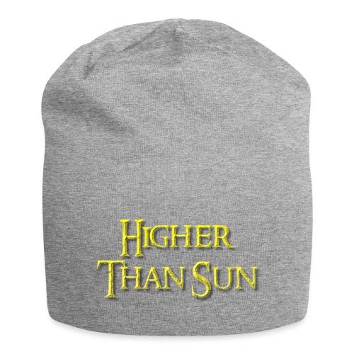 Higher Than Sun - Jersey Beanie