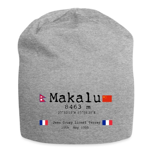 Makalublack - Beanie in jersey