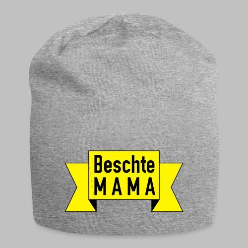 Beschte Mama - Auf Spruchband - Jersey-Beanie
