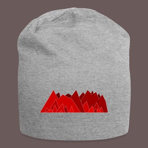 Simplistic Mountains - Jersey-Beanie