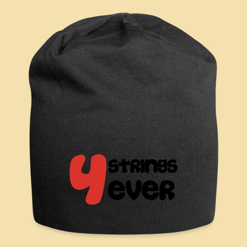 4 Strings 4 ever - Jersey-Beanie