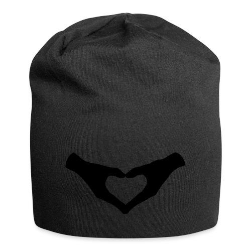 Herz Hände / Hand Heart 2 - Jersey-Beanie