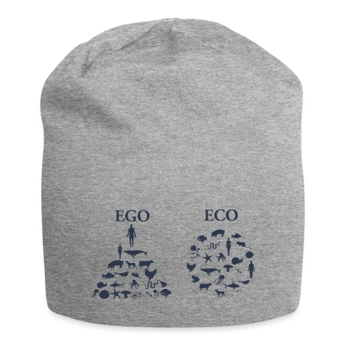 Ego VS Eco - Beanie in jersey