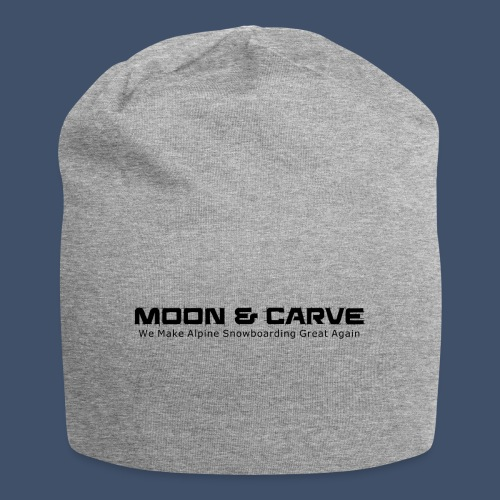 Moon & Carve black - Jersey-Beanie