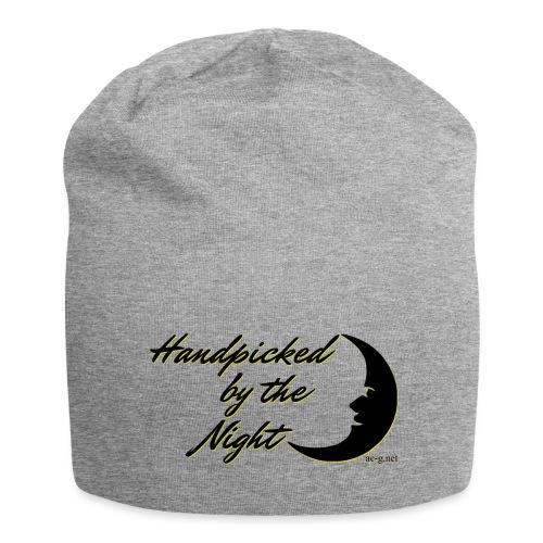Handpicked design By The Night - Logo Black - Jersey Beanie
