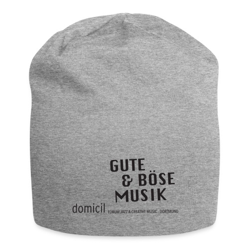domicil · Gute & böse Musik - Jersey-Beanie