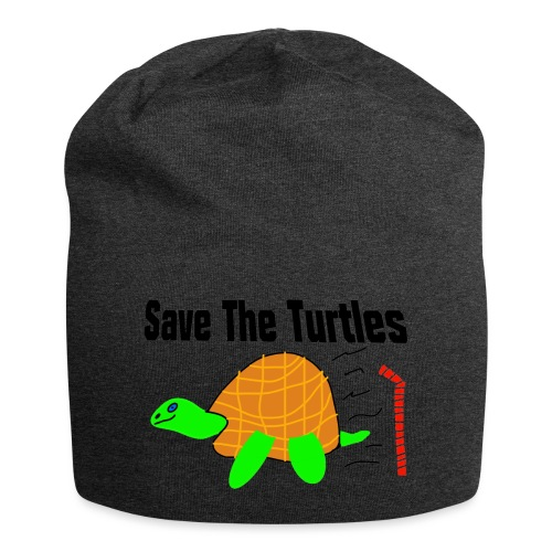 save the turtles - Jersey-beanie