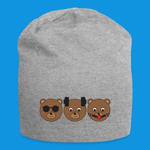 3 Wise Bears - Jersey Beanie