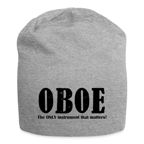Oboe, The ONLY instrument - Jersey Beanie