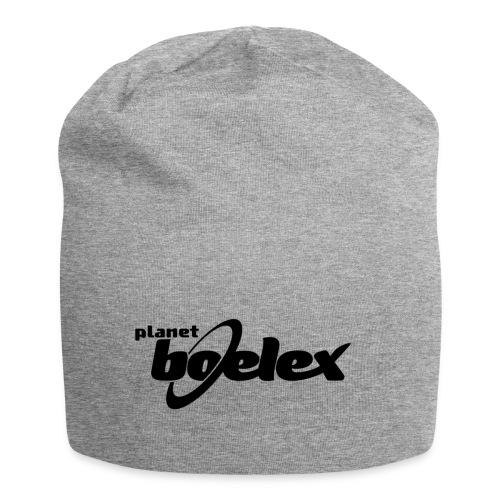 Planet Boelex logo black - Jersey Beanie