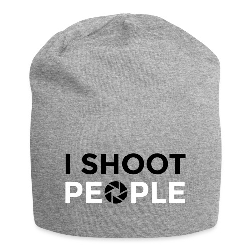 I shoot people - Jersey Beanie