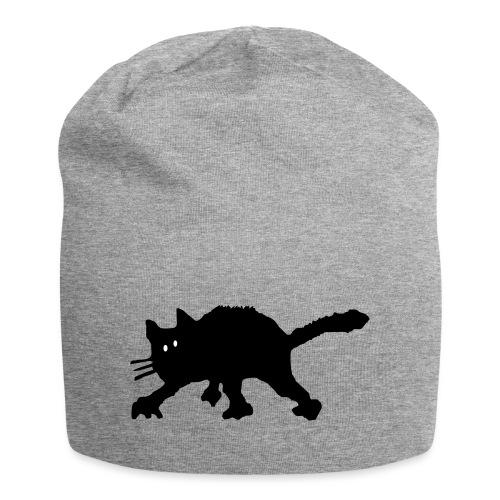 Katze - Jersey-Beanie