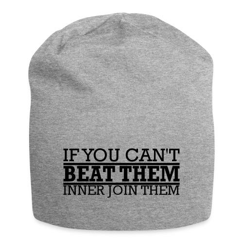 If You can't beat them, inner join them - Jerseymössa