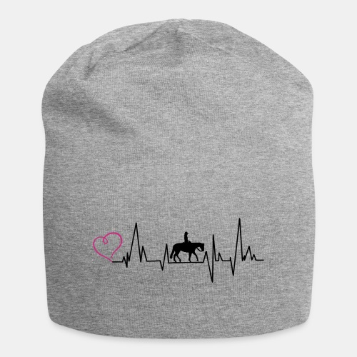 Heartbeat Pleasure Herz - Jersey-Beanie