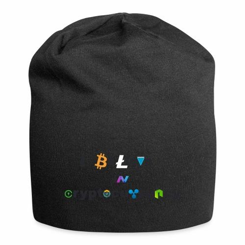 I believe in Cryptocurrency Stofftasche Kyptowähr - Jersey-Beanie