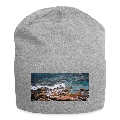 Handy Hülle mit Wellenmotiv - Jersey-Beanie